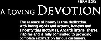 a loving devotion